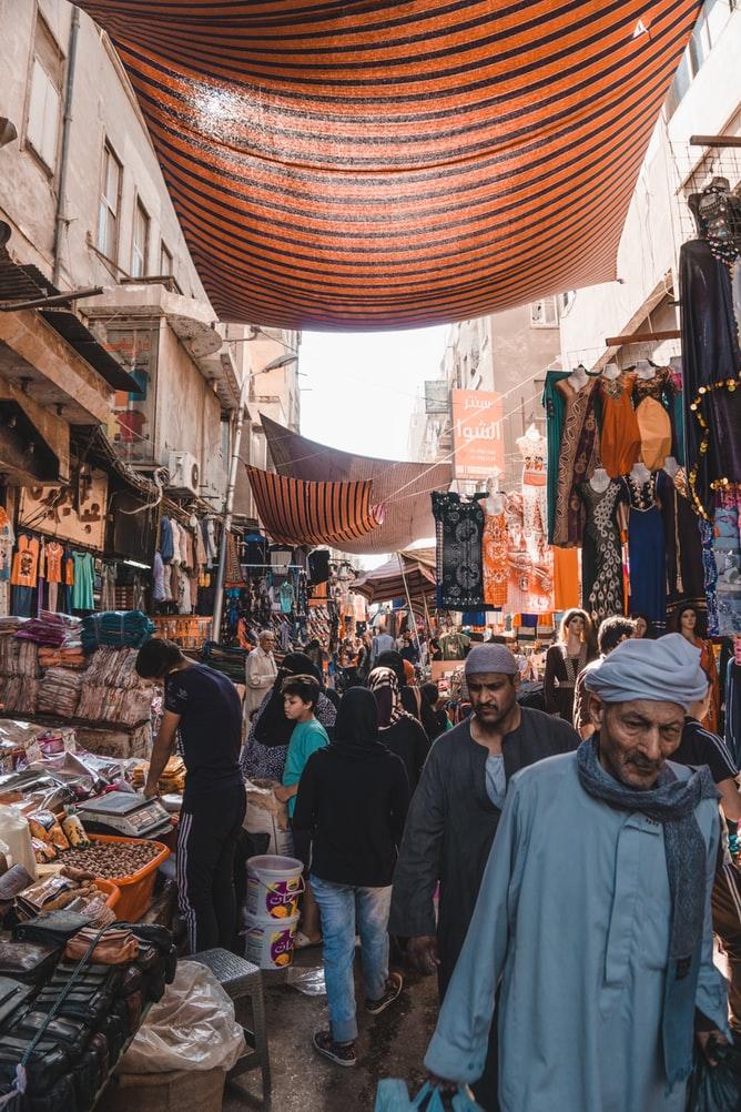 egitto mercato