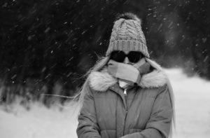 morire di freddo neve
